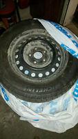 LIKE NEW! Tires on Rims. Fits Honda Civic. 195/65R15