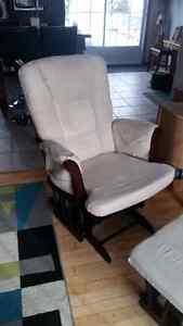 Chaise bercente