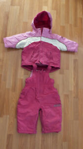 Baby winter Jacket and Pants size 12 M/M