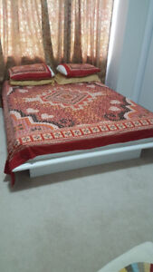 Brand new queen bed and mattress cheap cheap with storage