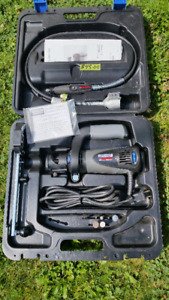 DREMEL KIT & ACCESSORIES IN HARDCASE-VERY GOOD CONDITION