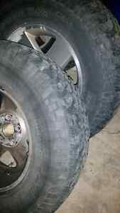 Jeep rubicon rims and tires. 17 inch London Ontario image 3