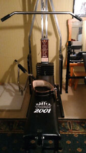 Banc d'exercice musculation -bench kit complet
