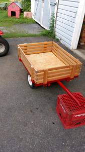 Lawnmower trailer