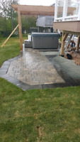 OUTDOOR LIVING SPECIALIST.  HARDSCAPES. DECKS. STONE FIRE PITS