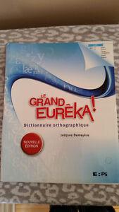 Dictionnaire orthographique Le Grand Eurêka