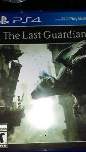 The Last Gaurdian ps4