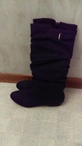 Ladies Faux suede boot. Size 8 Stratford Kitchener Area image 2