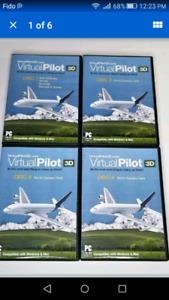 Aviation pilot simulator 3D