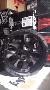 """NEW 18"""" 5X139.7 OR 8X165 -12 CALIOFFROAD RIMS"""