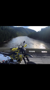 Drz400 great bike on and off road.