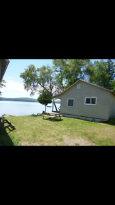 Cottages on skiff lake for rent