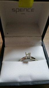 Engagement ring from Spence