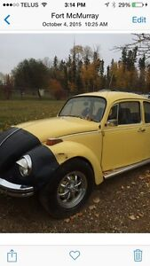 1972 beetle reduced to 4000$
