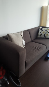 EQ3 fabric sofa for small apartments