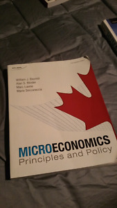 Microeconomics Nelson 1st Canadian edition