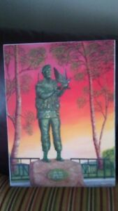 """""""In The Service Of Peace"""" Print St. John's Newfoundland image 3"""