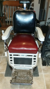 Two Theo A, Koch Barber Chairs