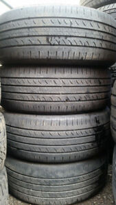 4 Pneus Haute Performance Hankook Optimo 205/55/16 en bon Etat