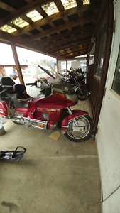 One owner GL 1500 Goldwing