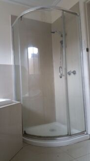 Designer shower screen and base  Avondale Heights Moonee Valley Preview