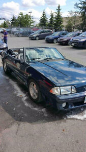 1989 Ford Mustang 5.0 Convertible - Mint Condition
