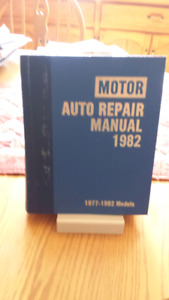 Motor auto repair manual 1977 - 1982