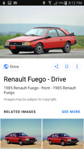 Renault Fuego one owner and me