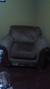 Chocolate Brown Chair