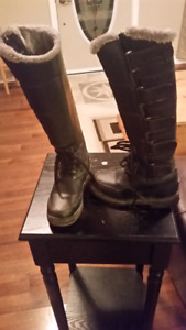 Childrens Warm winter riding boots