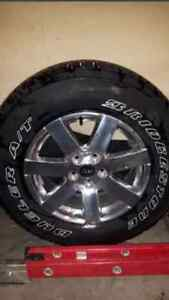 WANTED / SPARE TIRE AND RIM 2015 JEEP