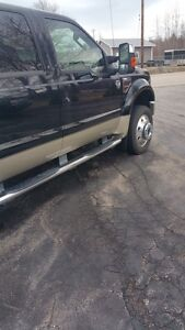 King ranch f450 black and pewter