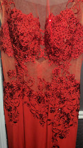 JOVANI. Prom dress. Red