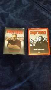 Sopranos Season one and two on DVD