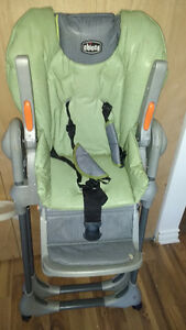 Chicco high chair excellent condition West Island Greater Montréal image 2