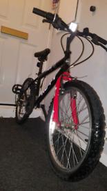 Mountain bike 6 gears kids