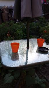 Ensemble patio