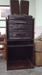CD Player 5 disc with cassette