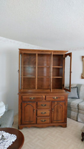 Wooden cabinet great condition!!! $250.00