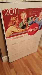 Coca-Cola chalkboard Advertising stand. Cornwall Ontario image 7