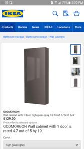 GODMORGAN IKEA vanity medicine cabinet