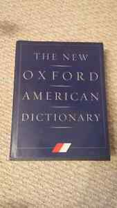 The new Oxford American Dictionary Hard Cover Book