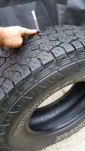 265/70/16 Hankook dynapro atm tires for sale