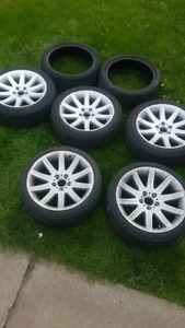 Style 95 bmw wheels 19in 5x120 3 fronts 2 rears