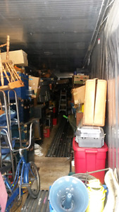 50 foot Container Full of stuff. Looking to sell all in auction
