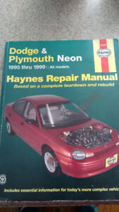 Dodge & Plymouth Neon 1995-1999  Haynes repair Manual