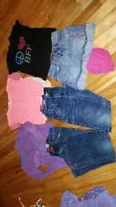 Vêtements fille 5/6 ans, lot #1