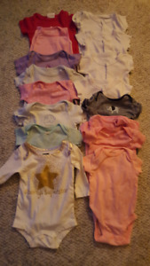 15 size 0-3 month onesies
