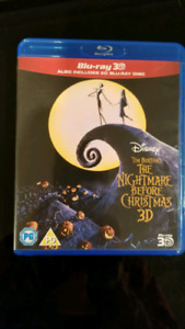 Nightmare Before Christmas Blu-Ray 3D European Format