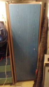 neoset 3 piece bedroom set green blue  wood finish.8 x 5.5 ft